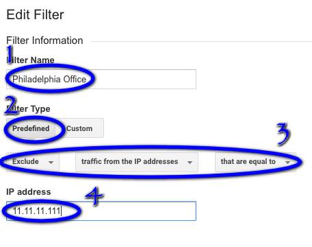 How To Filter IP Address Google Analytics