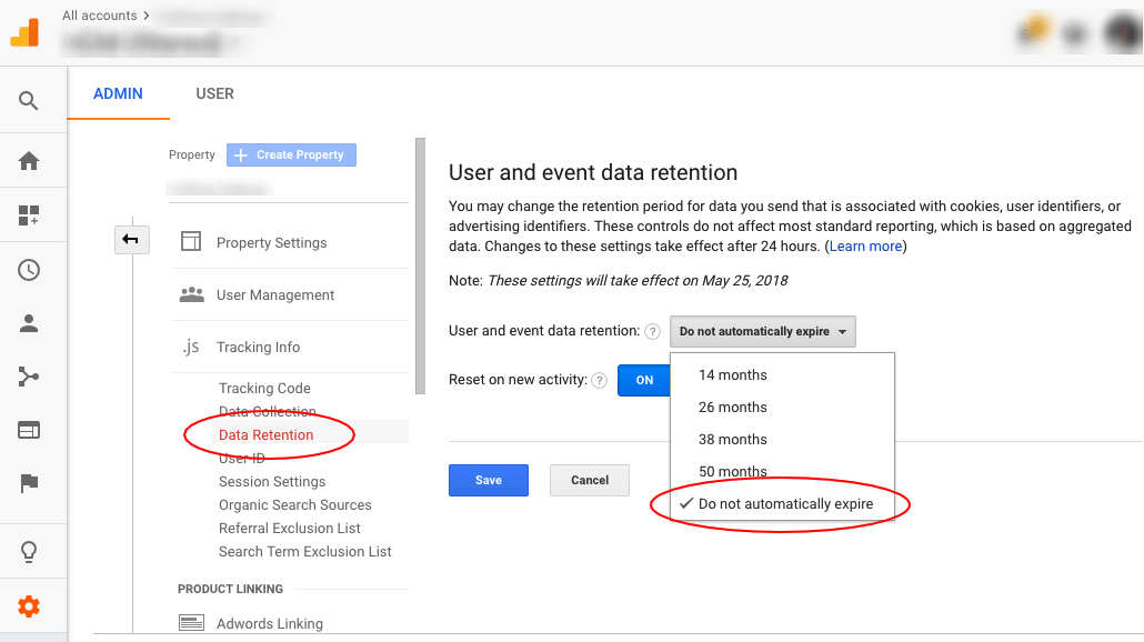 Users Data Missing In Analytics
